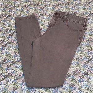 Free People Grey Purple Jean